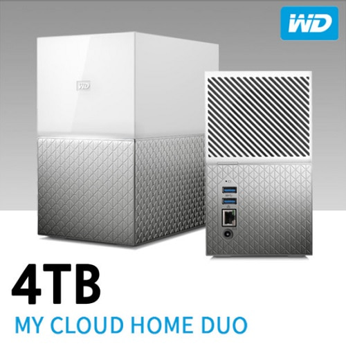 [WD]NAS My Cloud Home DUO 4TB